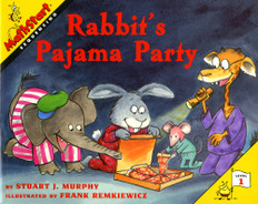 Rabbit's Pajama Party (Sequencing): MathStart Level 1 (Paperback)
