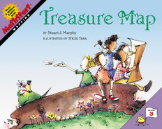 Treasure Map (Mapping) MathStart Level 3 (Paperback)