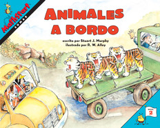 Animales a bordo (Sumar)Spanish: MathStart Level 2