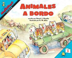 Animales a bordo (Sumar)Spanish: MathStart Level 2