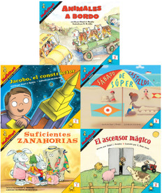 MathStart Level Reader (Spanish): Set of 5