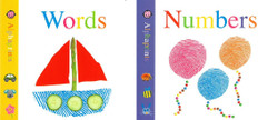 Words and Numbers Alphaprints Set of 2 (Board Book)