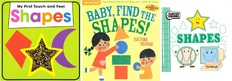 Baby, Find the Shapes!  Set of 3 (Includes 1 Indestructible)