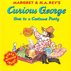 Curious George Goes to a Costume Party (Paperback)