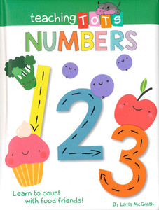 Teaching Tots Numbers (Padded Board Book)