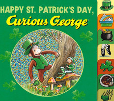 Happy St. Patrick's Day, Curious George (Board book)