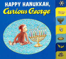 Happy Hanukkah, Curious George (Board Book)