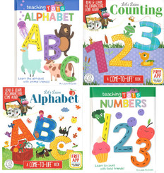 Teaching Tots ABC's and Numbers (BSB)- 20 Books