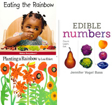 Colors and Numbers! Eating Healthy  Set of 3