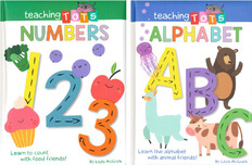 ABC's and Number 1 to 20 Set of 2 (Board Book)