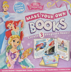 Disney Princess Make Your Own Books: Create 3 Keepsake Books!
