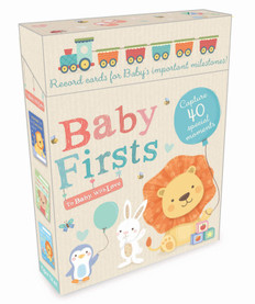 Baby Firsts: To Baby, With Love (Milestone Cards)