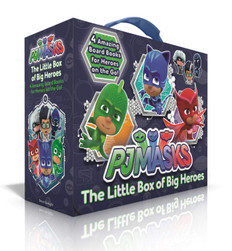 The Little Box of Big Heroes Set of 4 (Board Books)