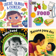 Baby, Let's Eat! Set of 4 (Spanish/English) (Board Book & 1 Indestructible)