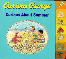 Curious George Curious About Summer (Board Book)