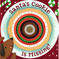 Santa's Cookie Is Missing! (Board Book)-Clearance Book