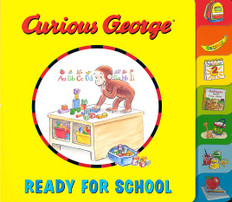 Curious George Ready For School (Tabbed Board Book)