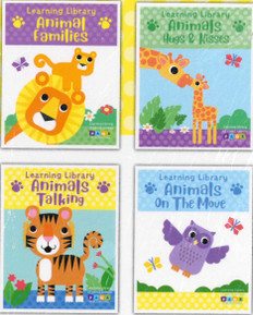 All About Animals Learning Library Set of 4 (Board Book)