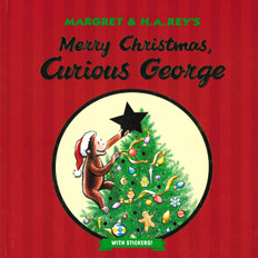 Merry Christmas, Curious George (Spanish/English) (Hardcover)