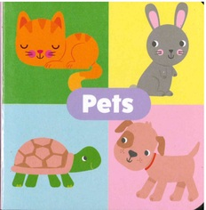 "Pets: Little Learning Chunky Board Book 3"" x 3"""