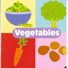 "Vegetables: Little Learning Chunky Board Book 3"" x 3"""