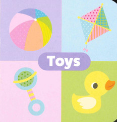 "Toys: Little Learning Chunky Board Book 3"" x 3"""