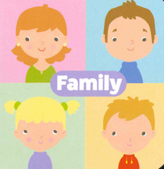 """Family: Little Learning Chunky Board Book 3"""" x 3"""""""