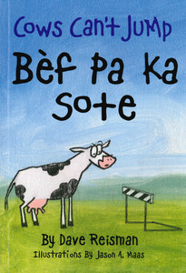 Cows Can't Jump (Haitian Creole/English) (Paperback)