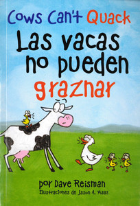 Cows Can't Quack (Spanish/English) (Paperback)