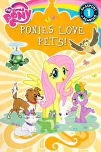 Ponies Love Pets! Level 1 (Paperback)