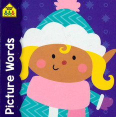"""Picture Words (3""""x 3"""" Chunky Board Book)"""