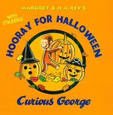 Hooray for Halloween Curious George (Hardcover)