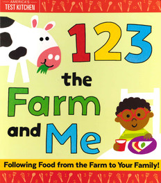 123 The Farm And Me (Board Book)