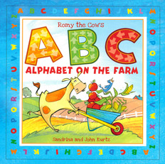 Romy the Cow's ABC Alphabet on the Farm (Board Book)