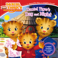 Daniel Tiger's Day and Night (Paperback)-Clearance Book