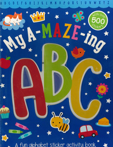 My A-maze-ing ABC Activity Book (Paperback)