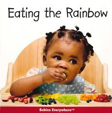 Eating the Rainbow (Board Book)- Clearance Book