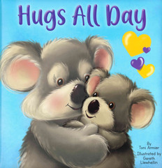 Hugs All Day (Padded Board Book)