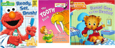 Keep Your Teeth Healthy and Strong! Set of 3