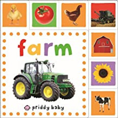 Farm: Mini Tab Book (Board Book)