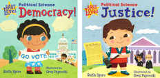 Baby Loves Political Science Set of 2 (Board Book)