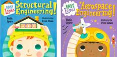 Baby Loves Engineering Set of 2 (Board Book)