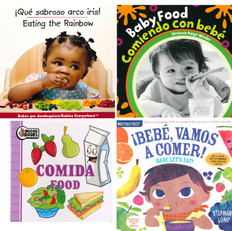 Time to Eat, Baby! (Spanish/English) (Board Book & 1 Indestructible)