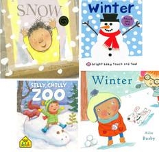 It's a White Winter! Set of 4 (Board Book)