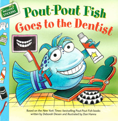 Pout-Pout Fish Goes to the Dentist (Paperback)