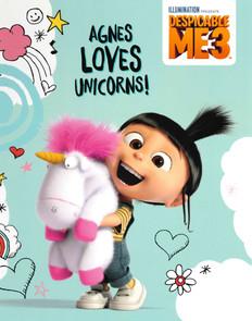 Agnes Loves Unicorns: Despicable ME3 (Hardcover)