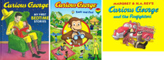 Fun with Curious George Set of 3