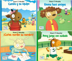Manners and Emotions: I See, I Learn (Spanish) Set of 4