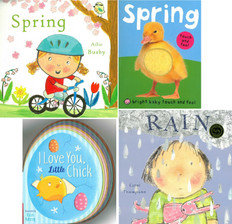 Baby Loves Spring! Set of 4 (Board Book)