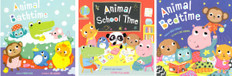 Adorable Animals and Daily Routines! Set of 3 (Board Book)